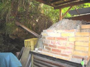 石窯 麦の郷 サイド