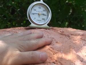 外カバー 温度60℃