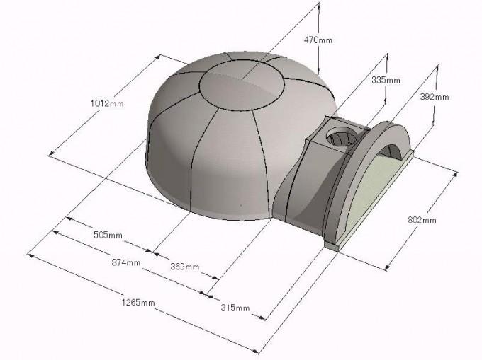 Casa90 Ceramic size