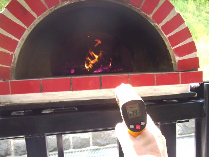 Casa70 炉内温度