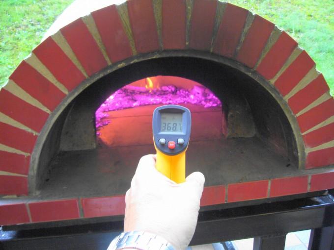 炉床温度368℃