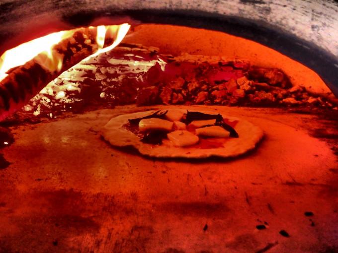 カーサ60 20cm ピザ投入 ヒートアップ後1時間